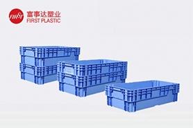 HP115DT翻转套叠塑料周转箱